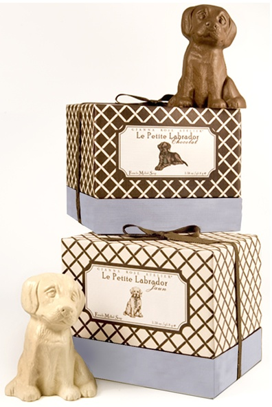 Le Labrador Chocolate and Yellow Labs soap