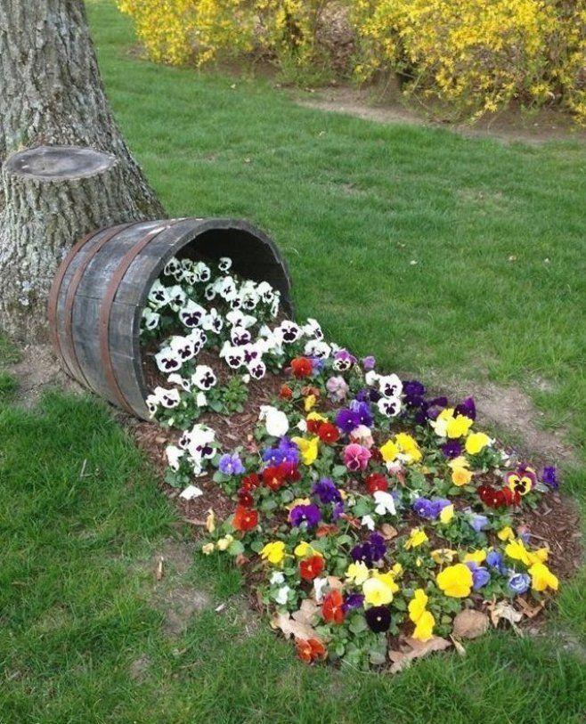 90 Deko Ideen F R Sommerliche Stimmung Im Garten 90 Deko Ideen F R Sommerl Diy Backyard Landscaping Backyard Ideas For Small Yards Small Backyard Landscaping