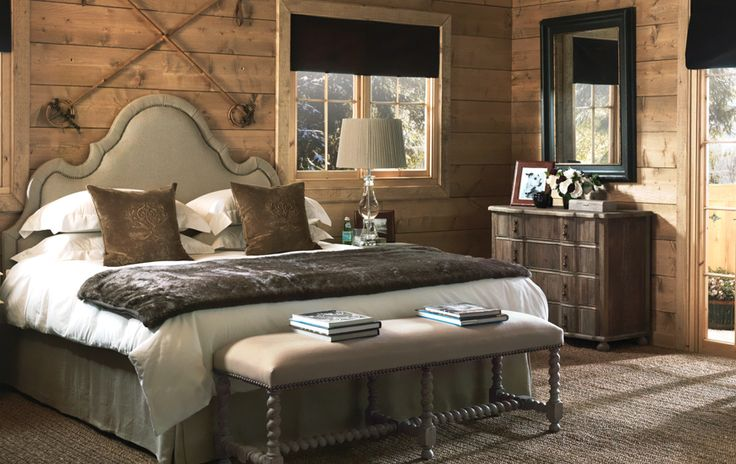 The Master Bedroom Of Our Swiss Chalet Is A Faux Fur Filled Sanctuary Designed To Aid A Good