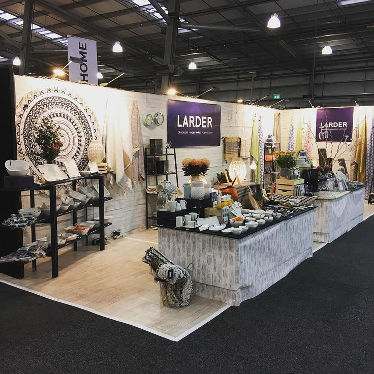 We are all set up and ready for you! Come and see our beautiful new homewares range at the Melbourne Showgounds Exhibition Pavilion Stand 60J #homewares #wholesale #australianretail #retail #shopping #larder #crockery #homewares #home #kitchen #lamps #jewellery