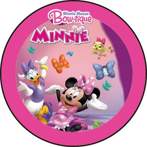 Kit de Minnie Boutique para Imprimir Gratis.