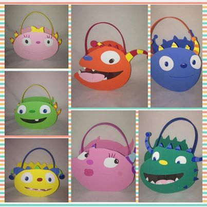 He encontrado este interesante anuncio de Etsy en https://www.etsy.com/es/listing/173025196/henry-hugglemonster-inspired-party-bags