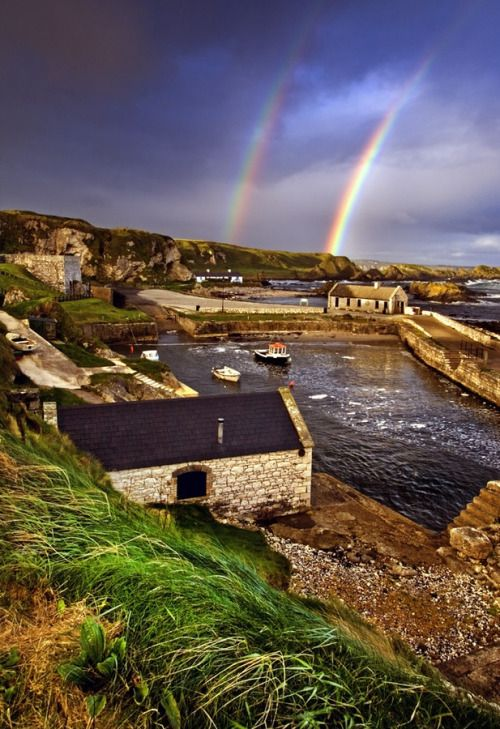 Ballintoy Harbour, County Antrim, Northern Ireland photo by...