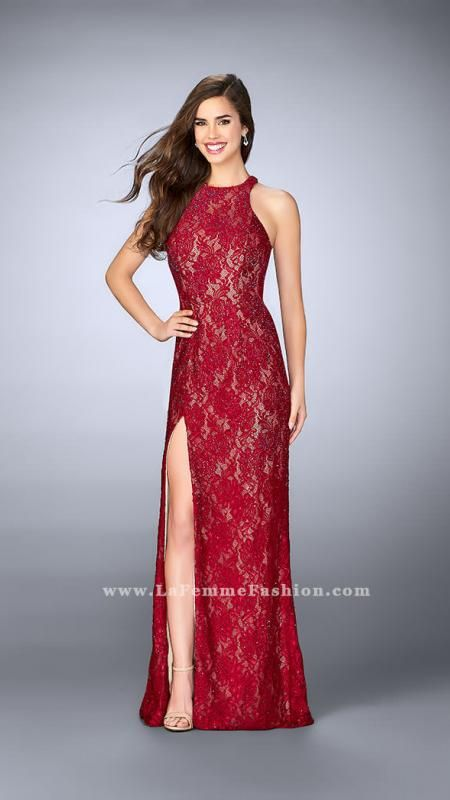 La Femme Prom Dress Style 23708 | La Femme