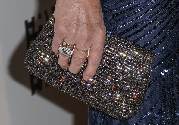 Jacki Weaver, Oscar nominee for Best Supporting Actress in 'Silver Linings Playbook,' radiates elegance wearing the Swarovski Sophisticated ring.