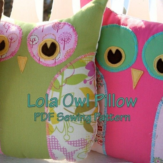 Lola The Owl Pillow PDF Pattern and bonus Lola Owl Bag Pattern / Gingercake & 121 best Owl Pillows images on Pinterest | Cute owl Owls and ... pillowsntoast.com