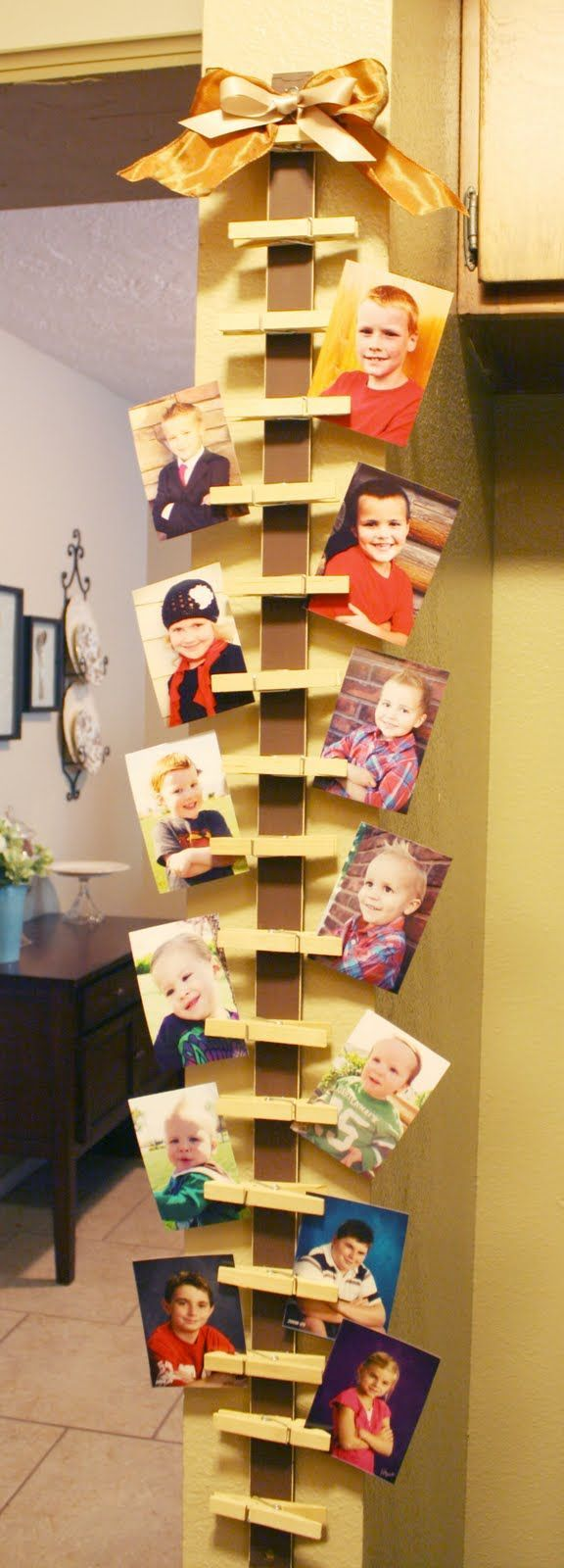 1000 ideas about card displays on pinterest greeting for Ideas para colgar fotos