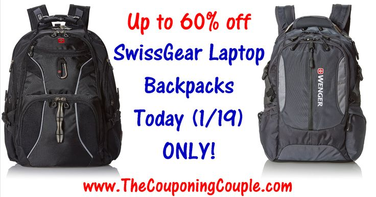 ***HOT DEAL ~ SAVE UP TO 76% on SwissGear Laptop Backpacks TODAY (1/19) ONLY*** Click the Picture below to get all of the details ► http://www.thecouponingcouple.com/swissgear-laptop-backpacks-save-60-today-119-only/  #Coupons #Couponing #CouponCommunity  Visit us at http://www.thecouponingcouple.com for more great posts!
