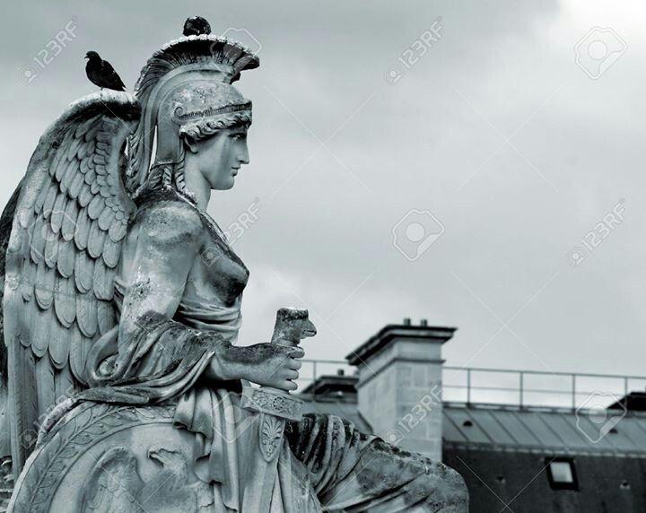 The Goddess armed.