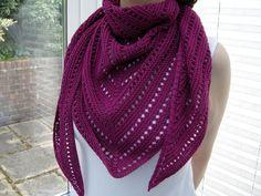 Unilintu Shawl By Luminen - Free Knitted Pattern - (ravelry)