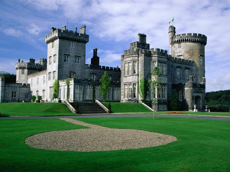 Dromoland Castle - Ireland, Brian Boru, High King of Ireland lived here. Ancestor to the O'Brien Clan.
