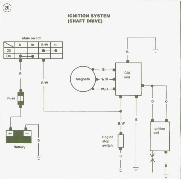 stator wiring diagram  diagram engineering ignition coil