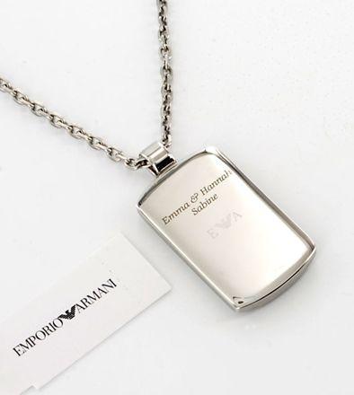 Herrenschmuck | Emporio Armani | Marken | uhren-schmuck-online.de - Juwelier Wieland München