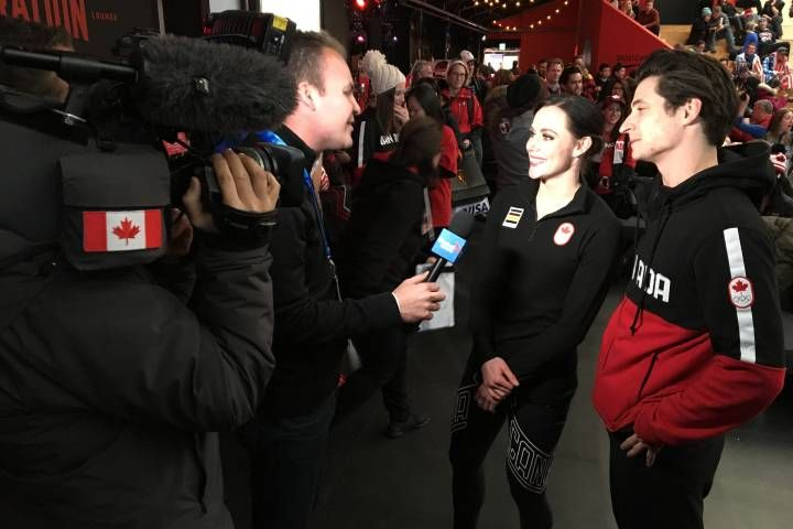 Scott Moir and Tessa Virtue thank Canadians for supporting their gold medal dreams