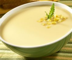 Cream Corn Soup - Crema de Elote