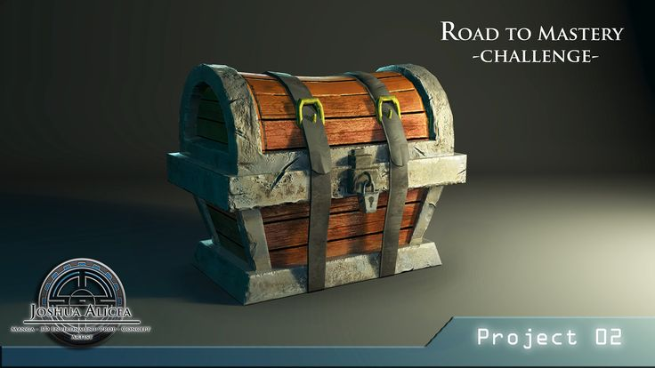 Road To Mastery Project 02, Joshua Alicea on ArtStation at https://www.artstation.com/artwork/road-to-mastery-project-02