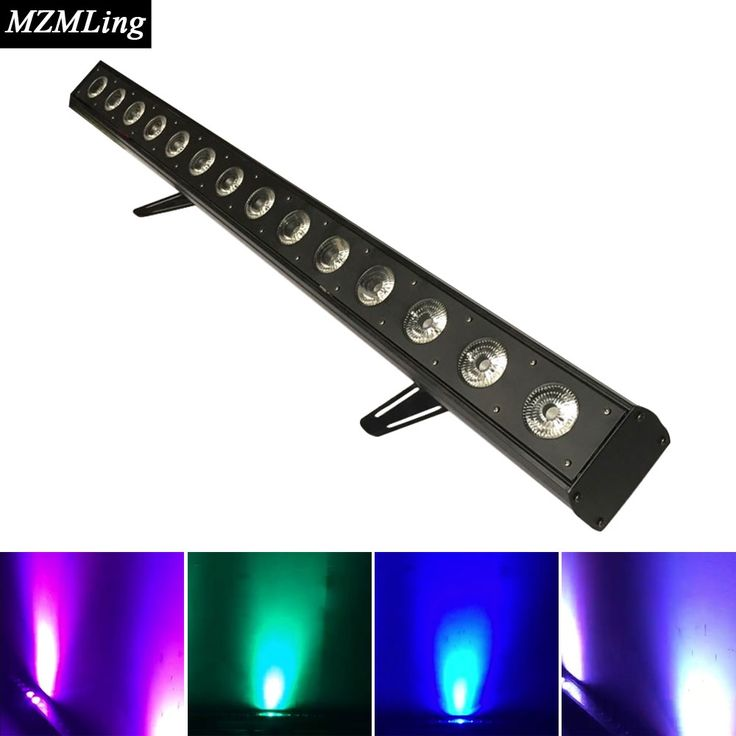 259.00$  Watch now  - 14*10w RGBW 4-In-1 Led Wall Wash Light 15/25/5 DMX Channels Washer Led Outdoor /Flood Light Stage DJ /Bar/Home Lighting Effect