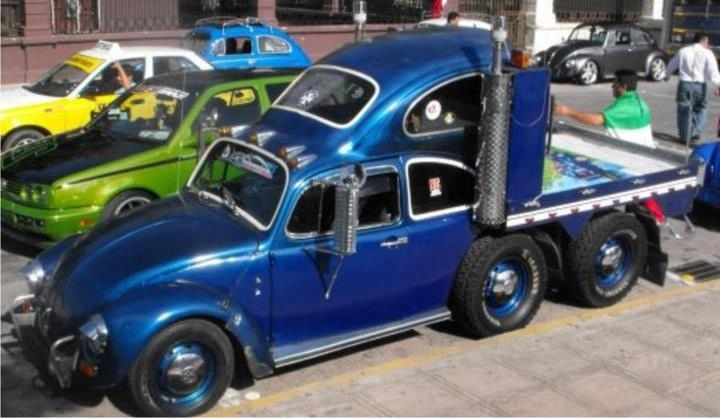 Volkswagen Semi Flat Bed Truck With Sleeper Cars