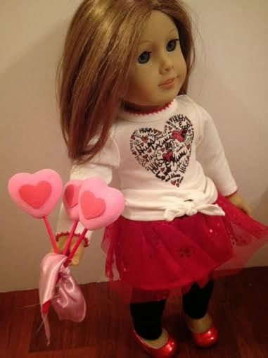 Karen Mom Of Threeu0027s Craft Blog: Make Easy Valentine Cake Pops For Your  Dolls!