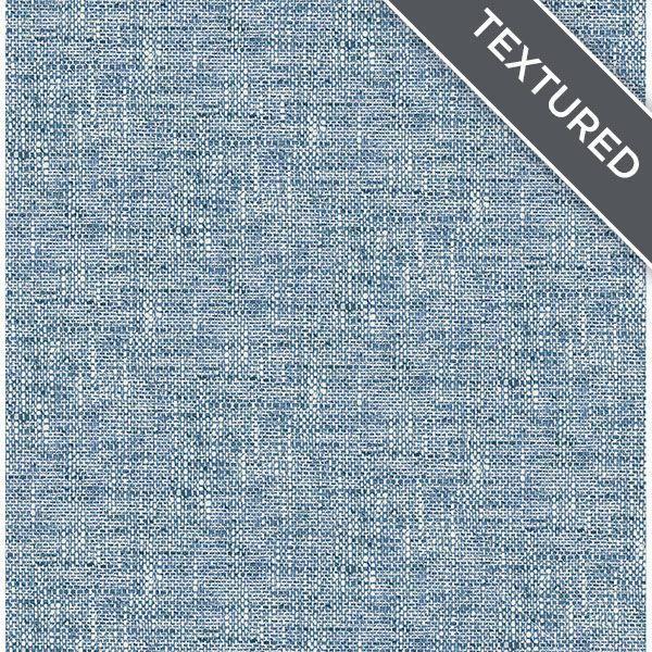 Navy Poplin Texture Peel Stick Wallpaper Peel And Stick Wallpaper Grey Removable Wallpaper Wallpaper Decor