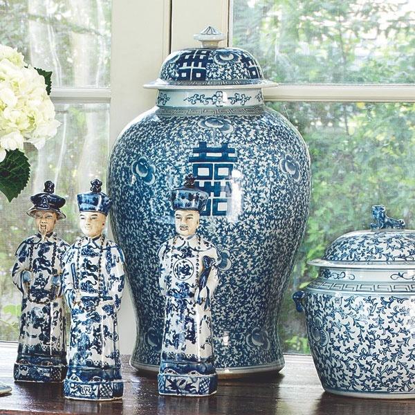 W1809Happiness Pots - Tall Decorative Accessory