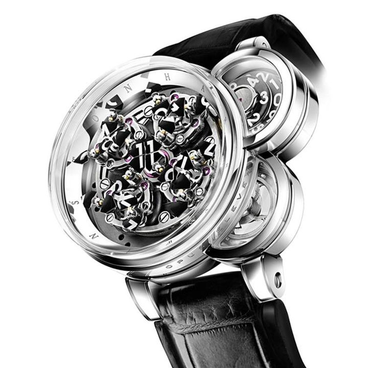 Opus Eleven  DEVELOPED WITH DENIS GIGUET: Harrywinston, Harry Winston, Luxury Watches, Opus11, Opus 11, Opuseleven, Opus Eleven, Men Watches, Winston Opus