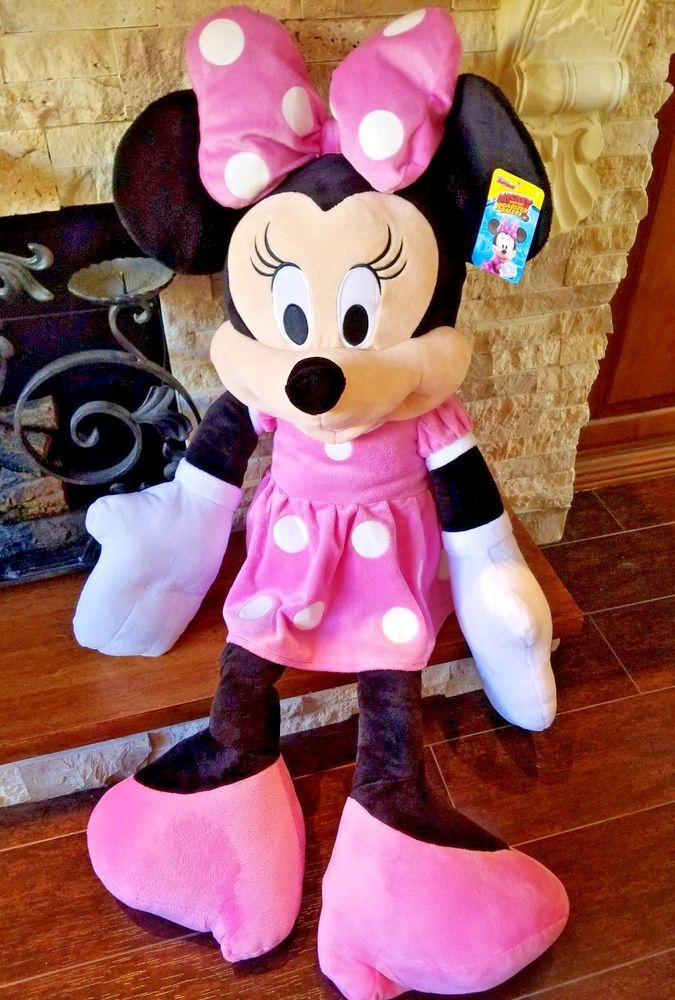 Disney Junior Minnie Mouse Plush Stuffed Animal Clubhouse Character
