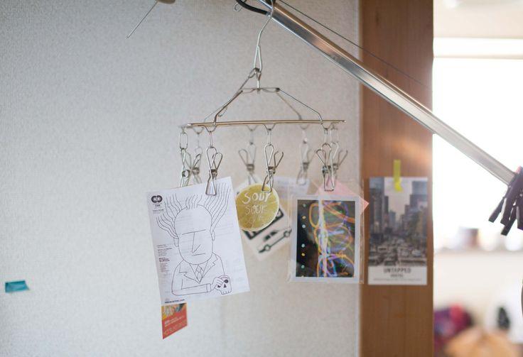 3COINSのピンチハンガーで「行けたら行きます」を可視化:マイ定番スタイル | ROOMIE(ルーミー)