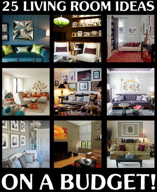 Beautiful Living Room Ideas On A Budget