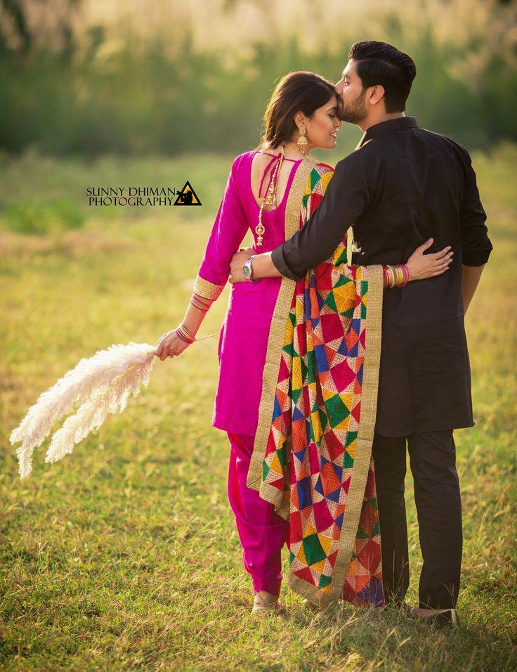 Punjabi Pre Wedding Couple Photography