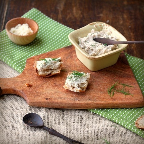 smoked mackerel pate savory