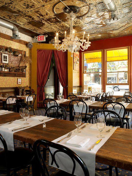 Al Di La Trattoria nyc. Worth the wait in line. Order Braised Rabbit with Olives on Polenta or Tagliatelle all Ragu.