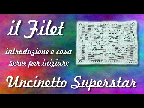 Filet Crochet - YouTube