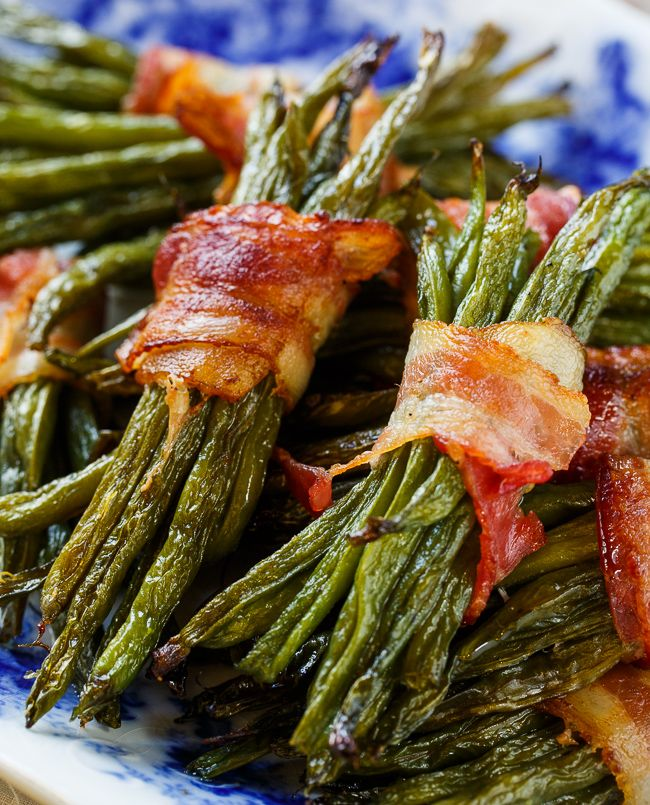 Green Bean Bundles Wrapped in Bacon