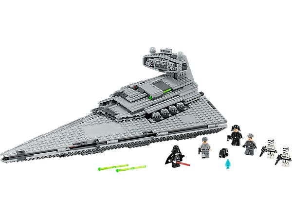 Get inside one of the Imperial fleet's most destructive vessels!  Join the evil Darth Vader on the Imperial Star Destroyer with synchronized cannons, spring-loaded shooters and Emperor Palpatine hologram.  $129.99