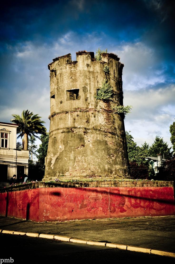 Restos del Fuerte de Valdivia.