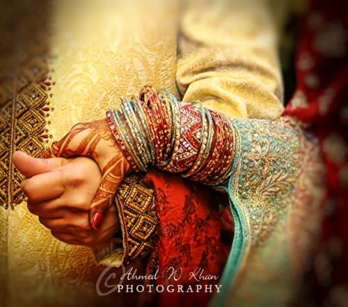 #Indian couple #wedding #red