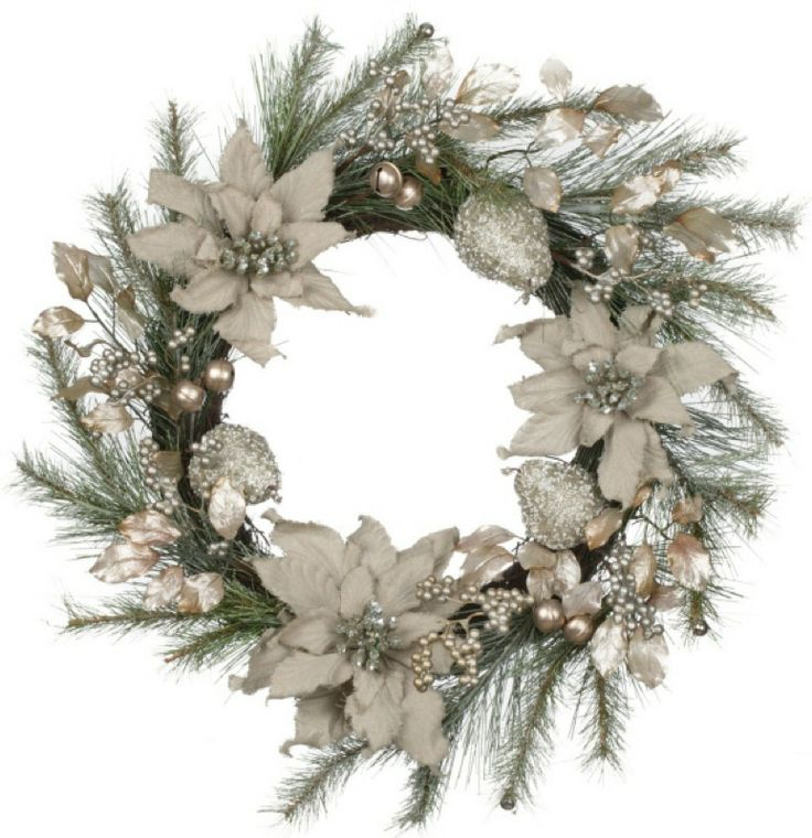 169 Best Beautiful Christmas Wreaths Images On Pinterest