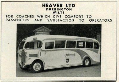 BRITISH BUS ADVERTS