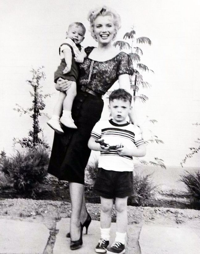 "To understand Marilyn best, you have to see her around children. They lover her; her whole approach to life has their kind of simplicity and directness."" – Arthur Miller on Marilyn Monroe"