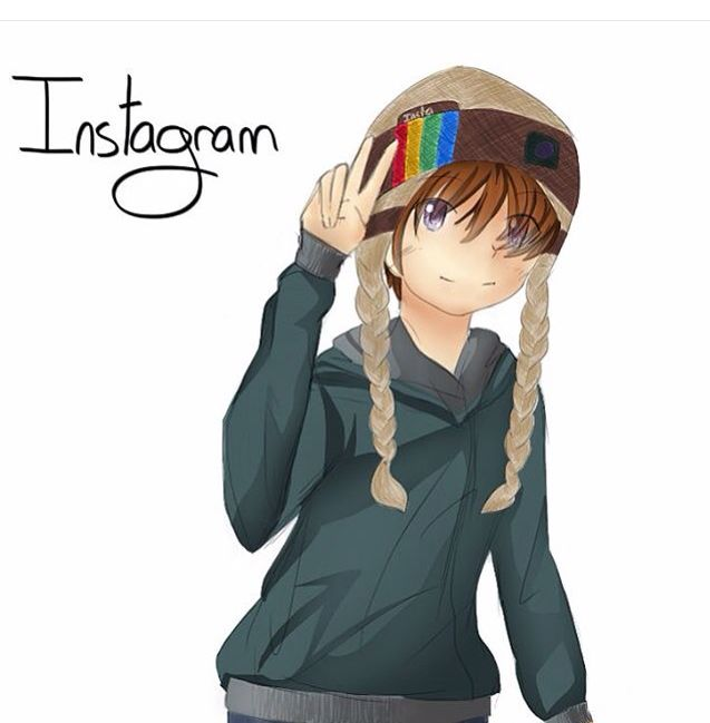 Personification of insta!