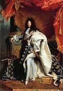 Lodewijk XIV (1638-1715) was een absoluut vorst. Als je absolute macht had, hoefde je naar niemand (behalve aan god) verantwoording af te leggen. Hij werd opgevoed door Jules Mazerin die hem vertelde dat Lodewijk de beste was. Toen hij koning werd, ging hij wonen in het kasteel van versailles met alle adel van frankrijk.