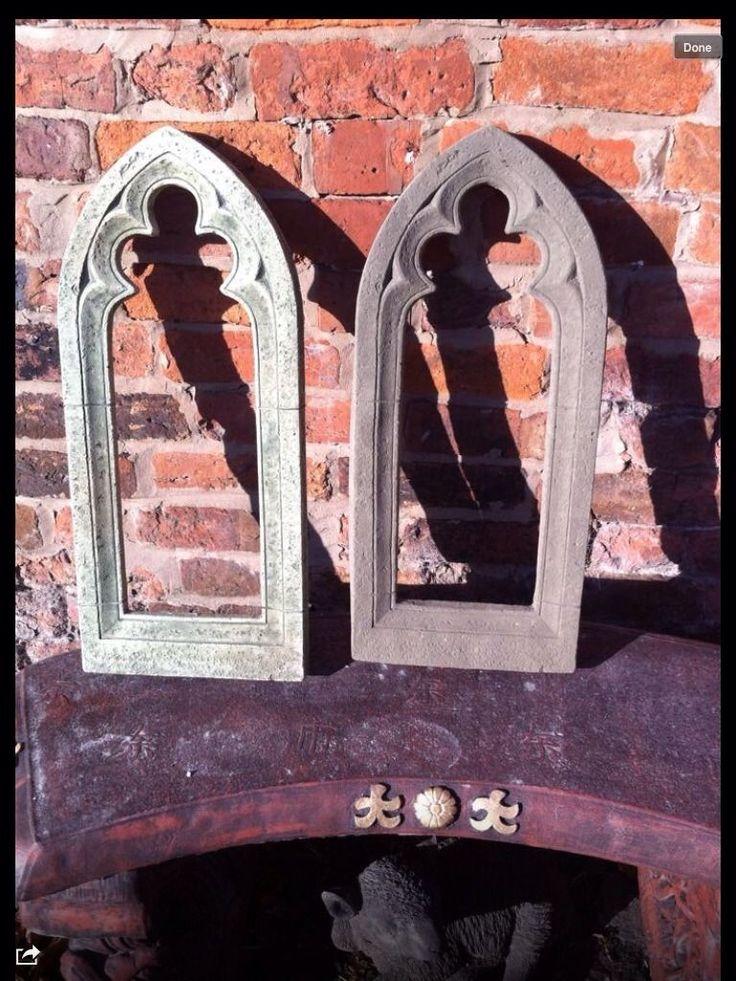 Gothic Garden Mirror Frame Latex And Fibreglass Mold