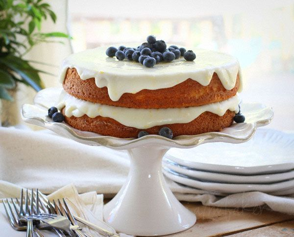 Blueberry Citrus Cake: Citrus Blueberries, Lemon Cakes, Recipe, Trifles, Food, Blueberries Cakes, I Am Baker, Blueberries Citrus Cakes, Blueberries Lemon