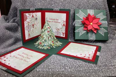 Shari G. has a great tutorial for an Explosion Box on the DT blog for you.