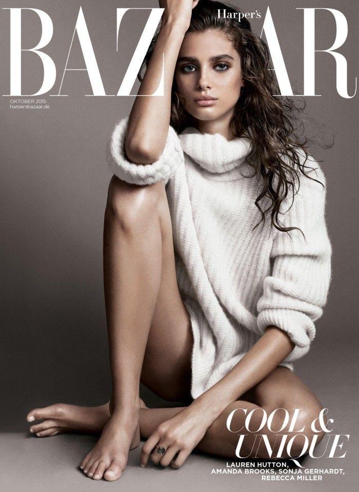 Taylor Hill for Harper's Bazaar Germany - October 2015