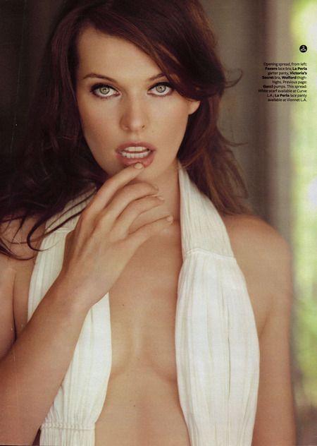 Milla Jovovich, muy seductora para la revista 'Maxim'