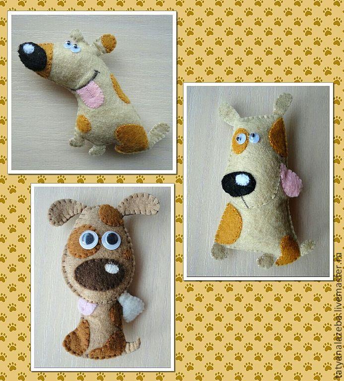 год собаки игрушки  на елку страна мастеров: 23 тыс изображений найдено в Яндекс.Картинках