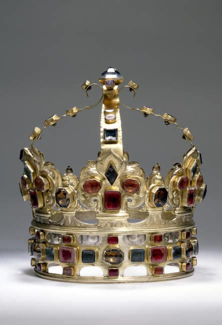Crown of Augustus II of Saxony - (Polish: August II Mocny; 12 May 1670 – 1 February 1733) was Elector of Saxony (as Frederick Augustus I), Imperial Vicar and became King of Poland and Grand Duke of Lithuania (as Augustus II).