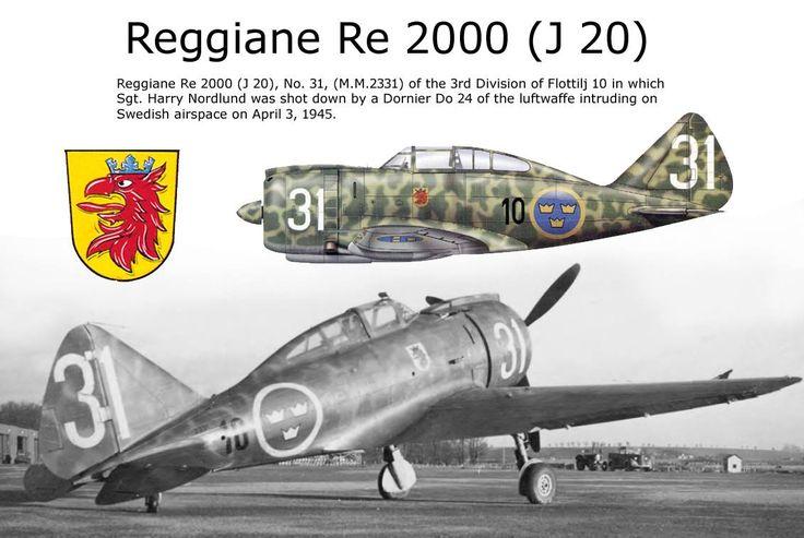 Reggiane Re.2000 { J20 }